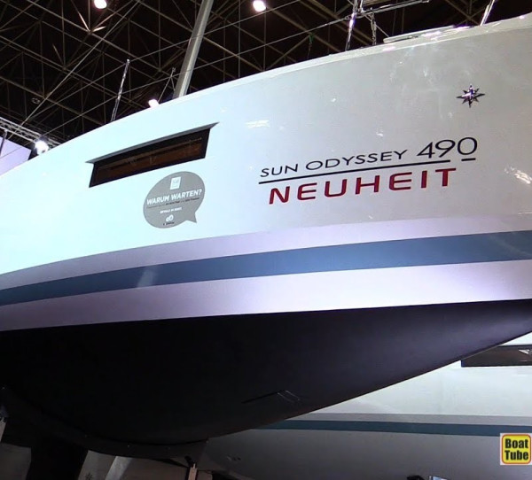 Sun Odyssey 490 DIONIZ with AC shore power